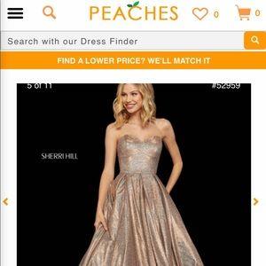 Size 18 Sherri Hill Prom Dress.